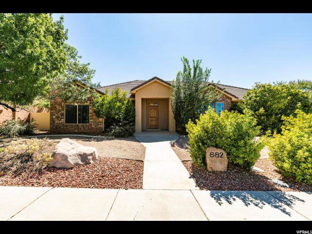 882 E Coyote Dr, Washington, UT 84780 (#1633439) :: Colemere Realty Associates