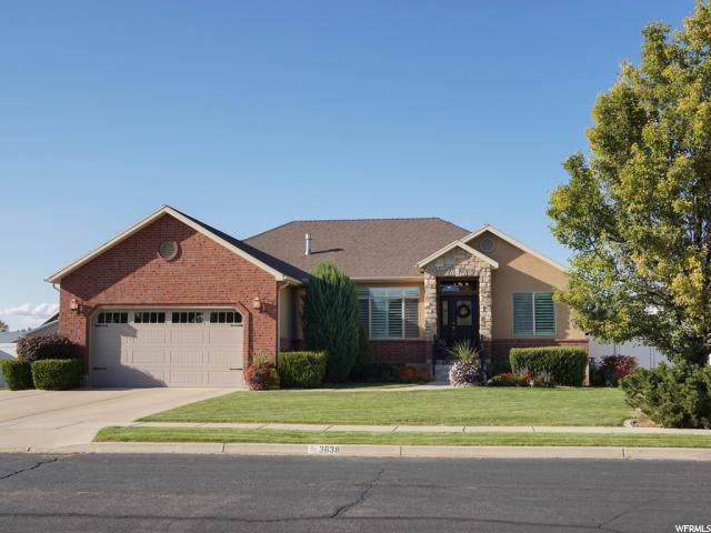 3638 W Troon Dr, Syracuse, UT 84075 (#1634153) :: The Fields Team