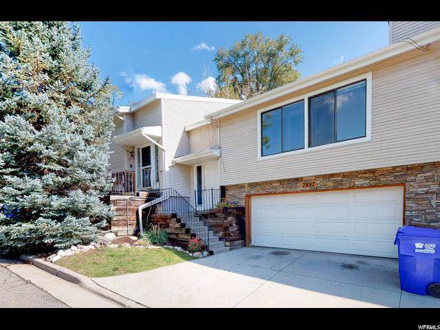 7887 S Honeywood Hills Ln E, Cottonwood Heights, UT 84121 (#1634402) :: Exit Realty Success