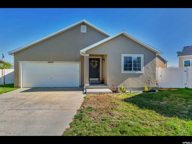 4843 W Quartz Valley Cir S, Riverton, UT 84096 (#1634879) :: The Fields Team