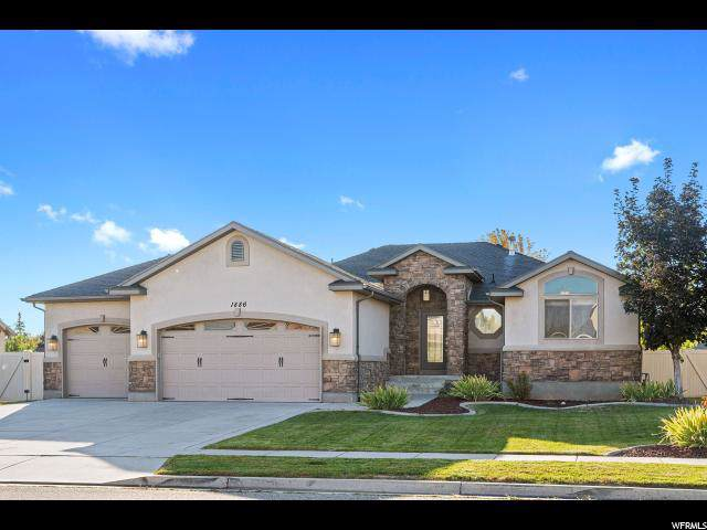 1886 S 1485 W, Syracuse, UT 84075 (#1635140) :: Bustos Real Estate | Keller Williams Utah Realtors