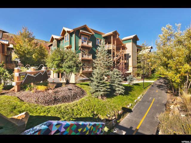 1000 Park Ave C103, Park City, UT 84060 (#1635247) :: Doxey Real Estate Group