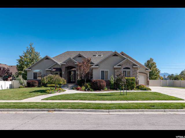 12553 S Majestic Hill Ct W, Herriman, UT 84096 (#1635361) :: The Fields Team