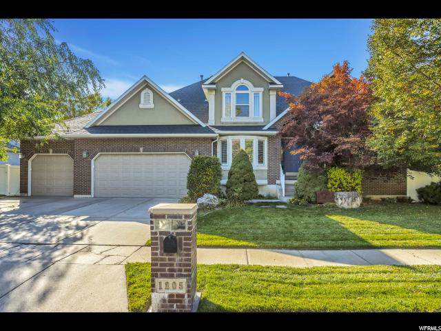 1205 Fairway Cir, Farmington, UT 84025 (#1635642) :: goBE Realty