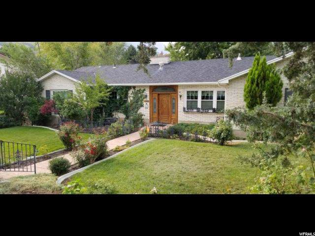 1356 Oakcrest Ln, Provo, UT 84604 (#1635673) :: Doxey Real Estate Group