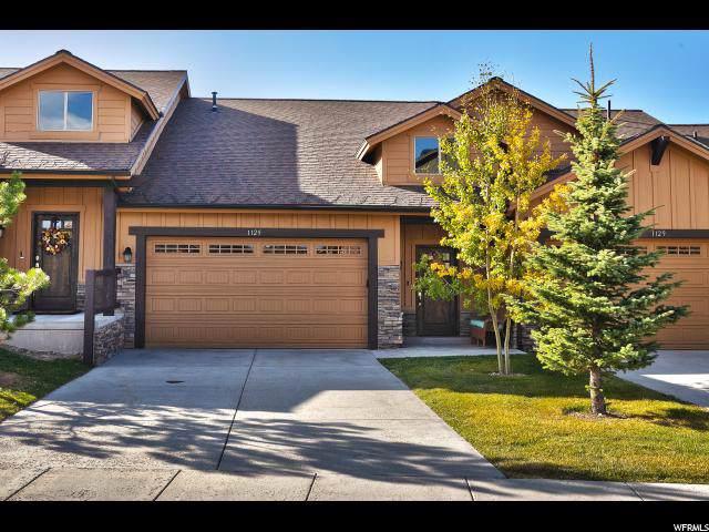 1125 W Wintercress Trl 26E, Heber City, UT 84032 (MLS #1636040) :: High Country Properties