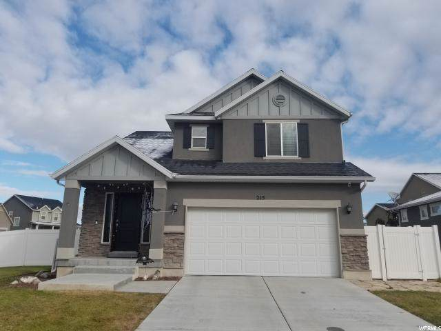 215 E Angell Way N, Stansbury Park, UT 84074 (#1636136) :: Red Sign Team