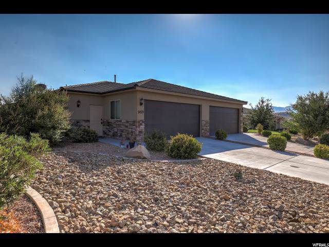 1459 W Clinton Way, St. George, UT 84770 (#1636183) :: Red Sign Team