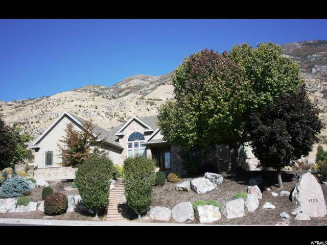 9322 N Canyon Heights Dr, Cedar Hills, UT 84062 (#1636344) :: goBE Realty