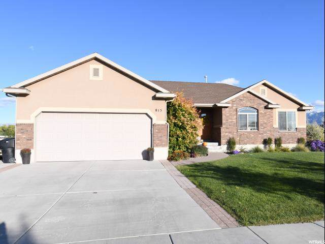 815 S 100 W, Garland, UT 84312 (#1636468) :: The Canovo Group