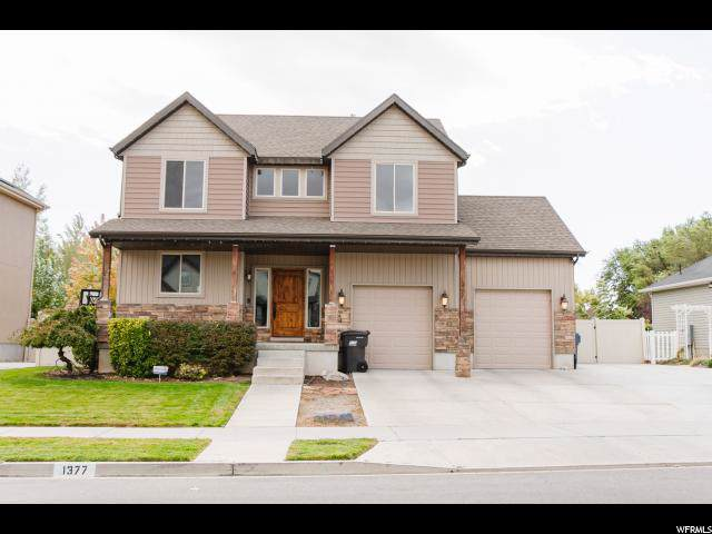 1377 W 800 N, Pleasant Grove, UT 84062 (#1636591) :: goBE Realty