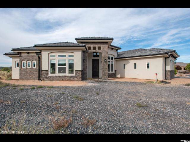 469 Canyon Trails Circle, Dammeron Valley, UT 84783 (#1636616) :: goBE Realty