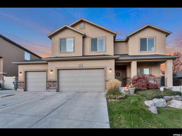 542 Pumpkin Patch Dr, Saratoga Springs, UT 84045 (#1636807) :: Pearson & Associates Real Estate