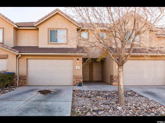 1000 E Bluff View Dr #28, Washington, UT 84780 (#1636953) :: Doxey Real Estate Group