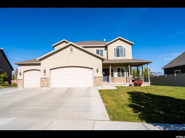 924 W Pheasant Ln N, Saratoga Springs, UT 84045 (#1636966) :: The Canovo Group