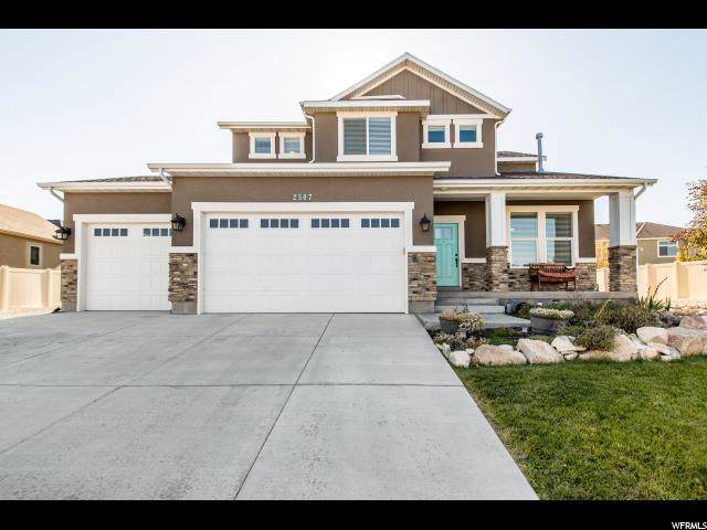 2507 S Maverick Rd W, Saratoga Springs, UT 84045 (#1636967) :: The Canovo Group