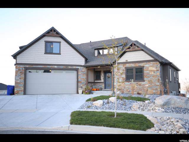 3152 S Deer Meadow Dr, Saratoga Springs, UT 84045 (#1636968) :: The Canovo Group