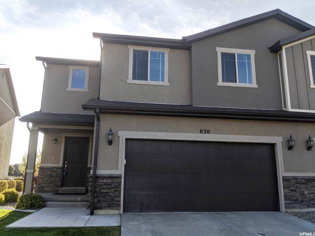 830 S Fox Trail Ln W, Orem, UT 84058 (#1637198) :: The Canovo Group