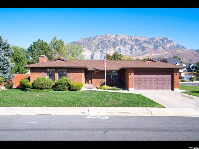 916 N 1000 E, Orem, UT 84097 (#1637218) :: The Canovo Group