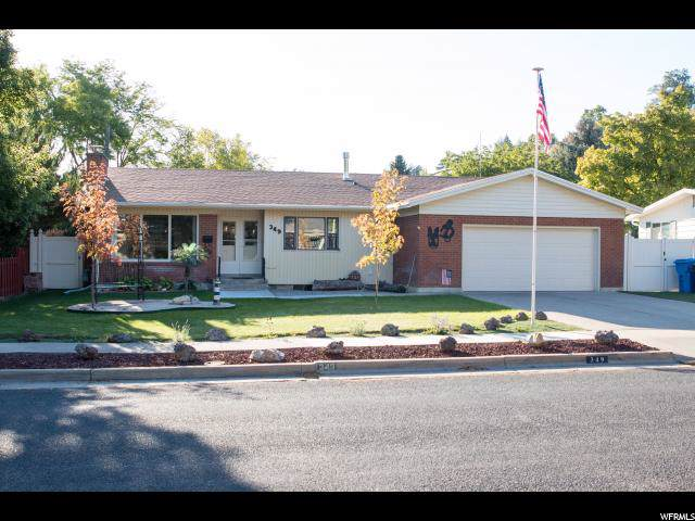 349 N 970 E, Logan, UT 84321 (#1637223) :: Red Sign Team