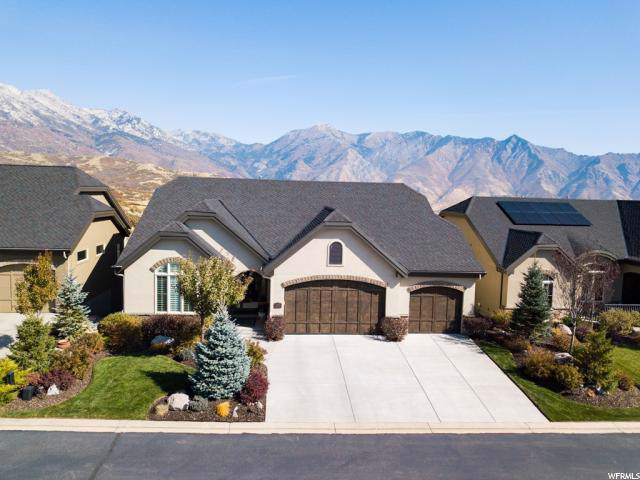 15709 S Rolling Bluff Dr E, Draper, UT 84020 (#1637232) :: The Canovo Group