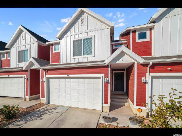 487 S Fox Chase Ln, Saratoga Springs, UT 84045 (#1637285) :: The Canovo Group