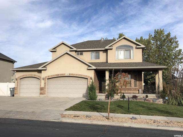314 W Hillside Dr S, Saratoga Springs, UT 84045 (#1637295) :: The Canovo Group