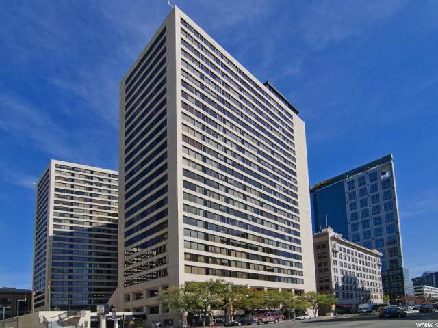 44 W Broadway S #802, Salt Lake City, UT 84101 (#1637315) :: Colemere Realty Associates