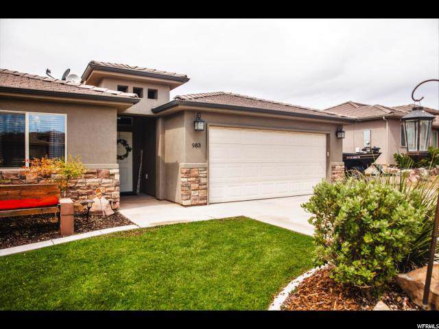 983 N Camel Springs Dr, Washington, UT 84780 (#1637322) :: Colemere Realty Associates