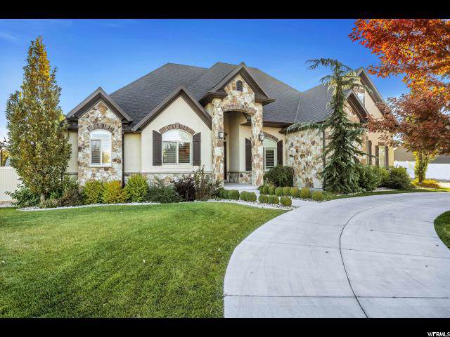 11027 S Gracie May Ln, South Jordan, UT 84095 (#1637525) :: Bustos Real Estate | Keller Williams Utah Realtors
