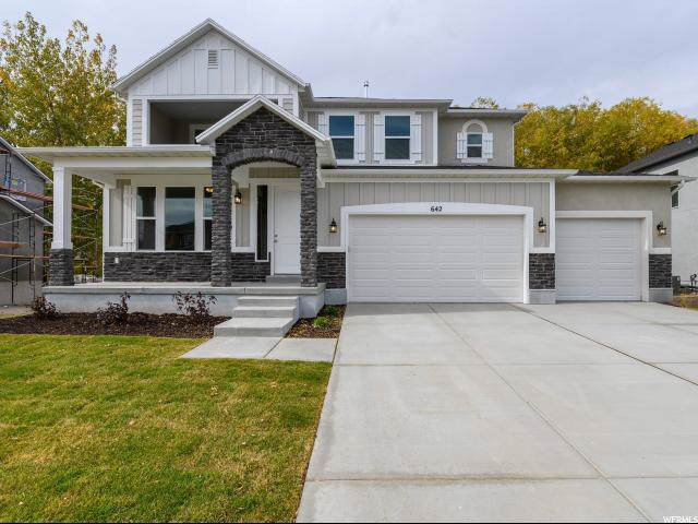 642 S Creekside Dr W, Lehi, UT 84043 (#1637814) :: Action Team Realty