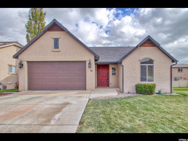 74 W Lake View Terrace Rd S, Saratoga Springs, UT 84045 (#1638127) :: The Fields Team