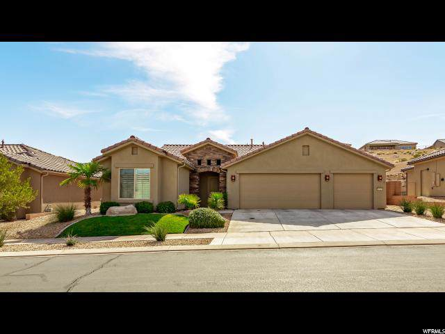 1535 W Whitestone Dr, St. George, UT 84790 (#1638159) :: Colemere Realty Associates