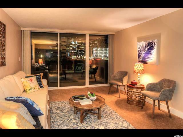 230 E Broadway S #405, Salt Lake City, UT 84111 (#1638494) :: Doxey Real Estate Group