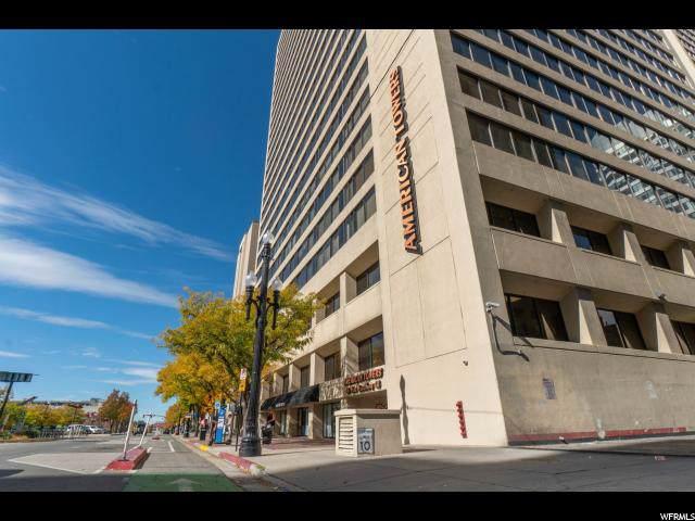 48 W Broadway #706, Salt Lake City, UT 84101 (#1638699) :: Doxey Real Estate Group