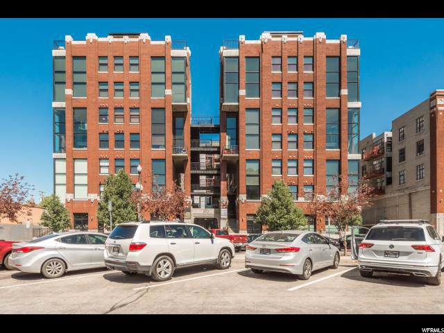 360 W 300 S #206, Salt Lake City, UT 84101 (#1639186) :: The Perry Group