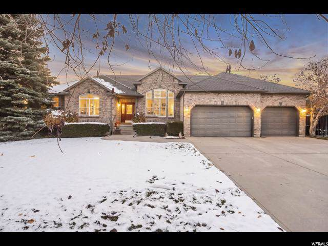 9196 S Wedgefield Dr, Sandy, UT 84093 (#1640058) :: The Fields Team
