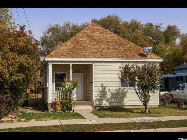 508 E 4TH St S, Ogden, UT 84404 (#1640175) :: Big Key Real Estate