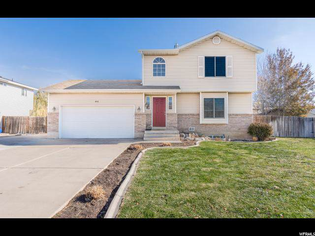 491 N 700 W, Clearfield, UT 84015 (#1640511) :: Red Sign Team
