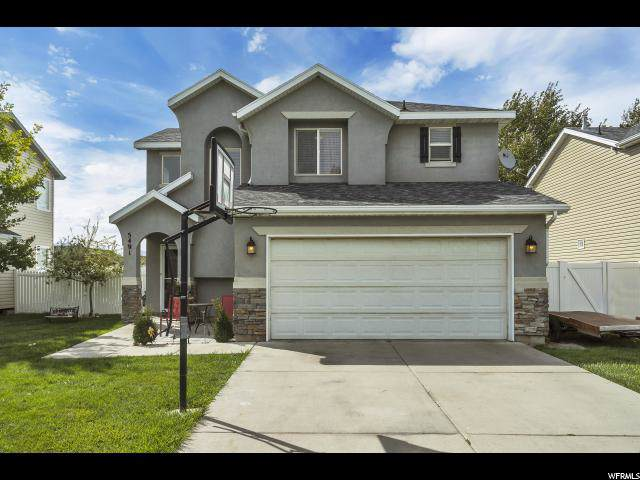 5491 N Heather Way W, Stansbury Park, UT 84074 (#1640911) :: Red Sign Team