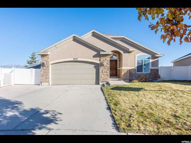 4839 W Quartz Valley Cir, Riverton, UT 84096 (#1641023) :: The Fields Team