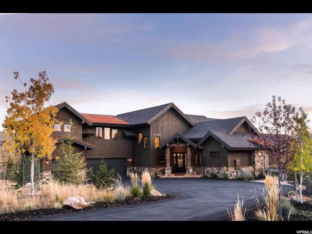 2063 Saddlehorn Dr, Park City, UT 84098 (MLS #1641792) :: High Country Properties
