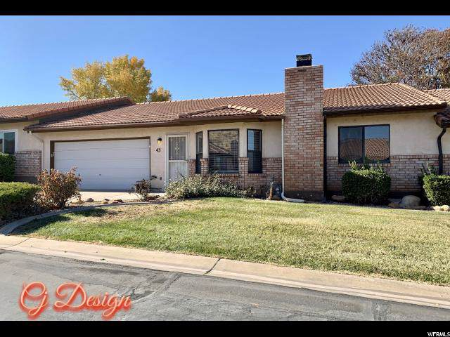 43 1050 E BRIGHAM Rd E #43, St. George, UT 84790 (#1641867) :: Bustos Real Estate | Keller Williams Utah Realtors