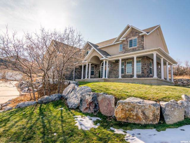 98 W Salem Hills Dr, Elk Ridge, UT 84651 (#1642086) :: Red Sign Team