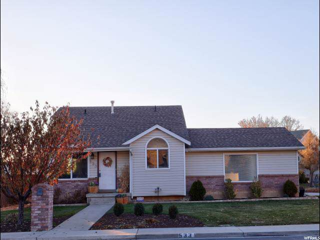 533 N 1440 W, Pleasant Grove, UT 84062 (#1642204) :: Big Key Real Estate