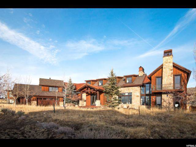7090 Juniper Draw, Park City, UT 84098 (MLS #1642214) :: High Country Properties