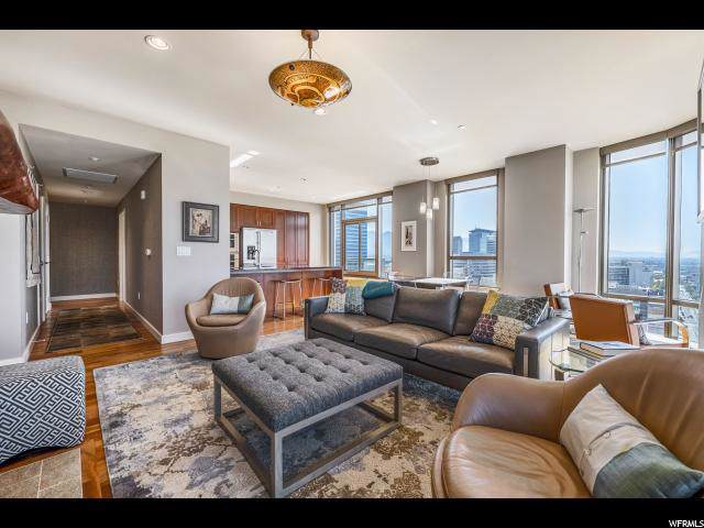 99 W South Temple #1704, Salt Lake City, UT 84101 (#1642237) :: RISE Realty