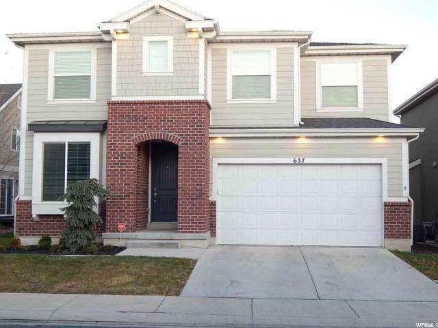 637 S 2310 W, Pleasant Grove, UT 84062 (#1642758) :: Big Key Real Estate