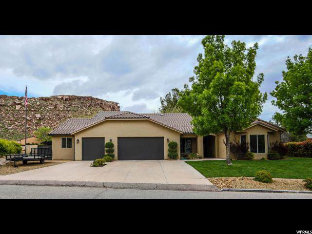2673 Los Padres Dr, St. George, UT 84790 (#1642843) :: The Fields Team