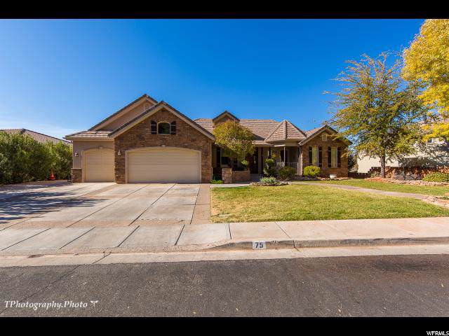 75 N Shadow Point Dr, St. George, UT 84770 (#1642947) :: Red Sign Team